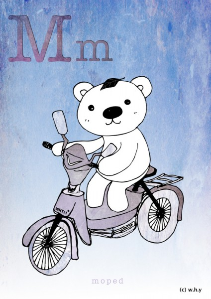 Moped Bear