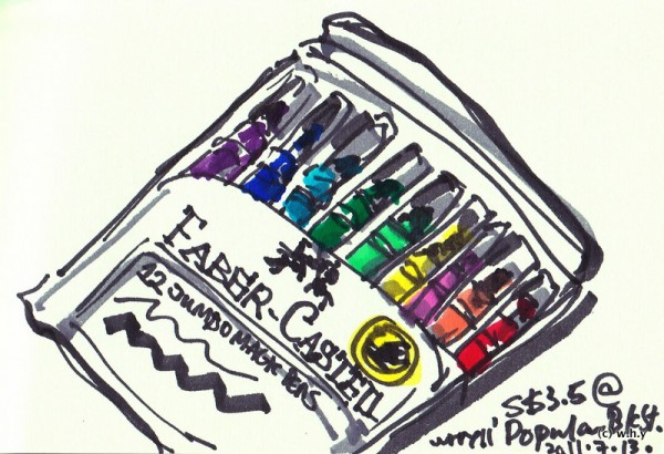 12 Jumbo Magic Pen Marker