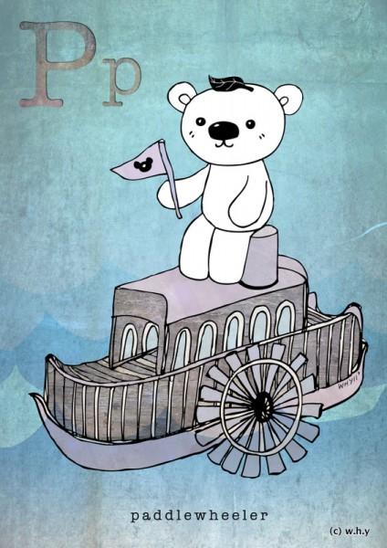 Paddlewheeler Bear