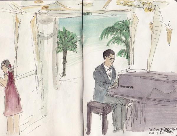 GoodWood Park Pianist
