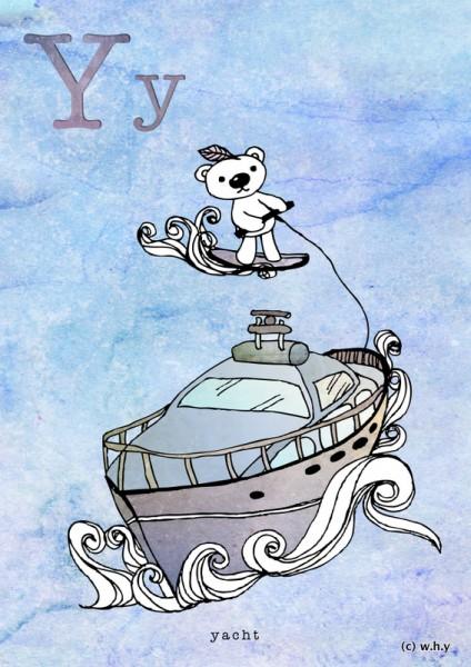 yacht bear