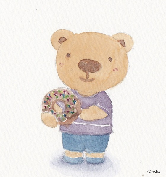 bear donut