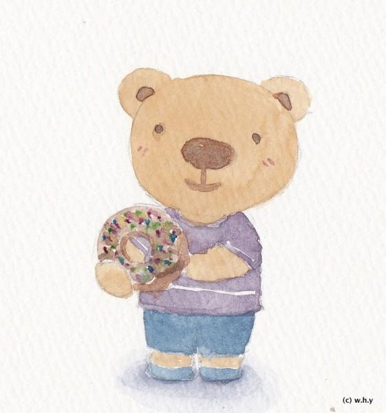 bear donut