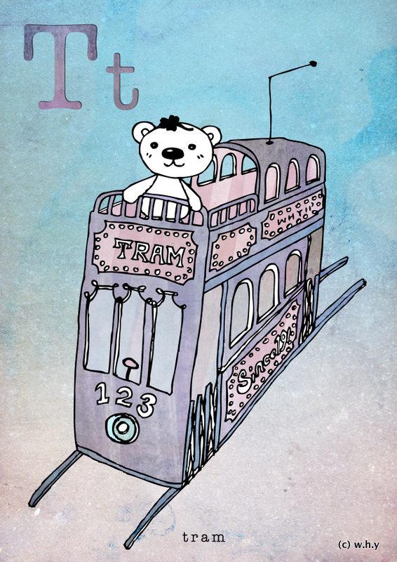 Tram Bear