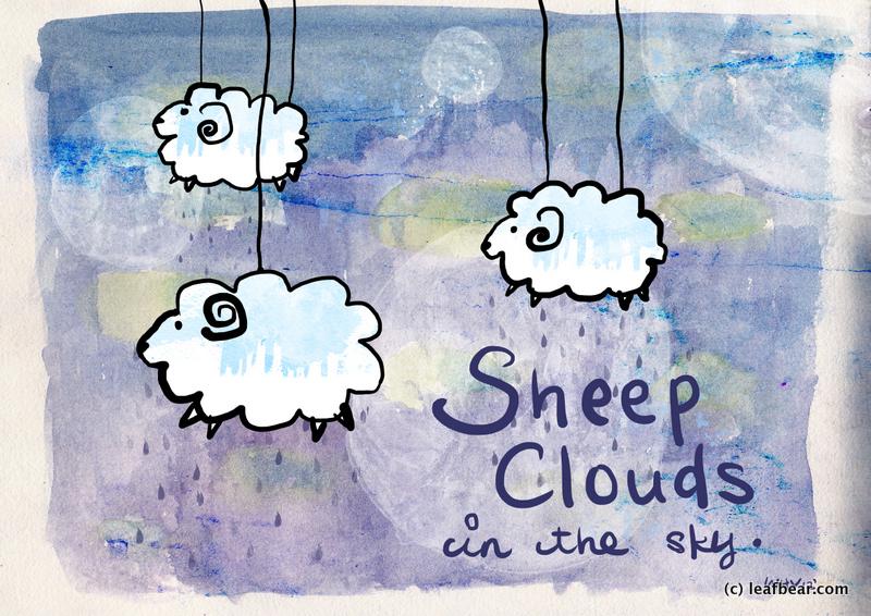 sheep clouds