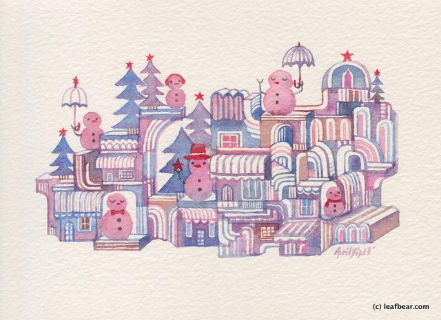 Snowman Town #3