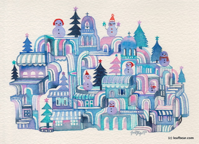 Snowman Town #2