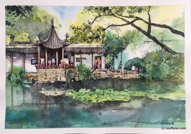 Summer Suzhou Garden