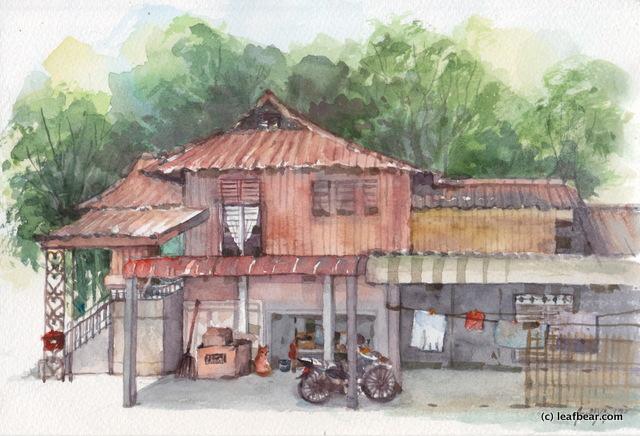 Labu Malay House 01