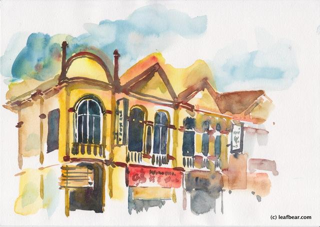 Shophouses at Seremban Oldtown