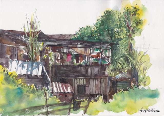 Limbok Wooden Houses