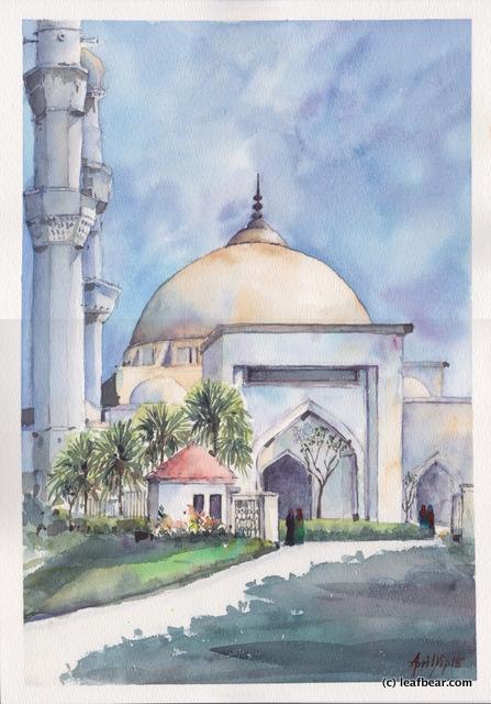 Al-Hussain Mosque in Seremban 2